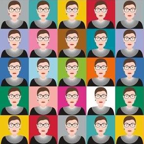 RBG - Ruth Bader Ginsburg - Rainbow Boxes - MD