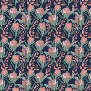 Protea and sugarbird - medium