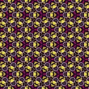 Purple Pink Yellow (Ankara small)