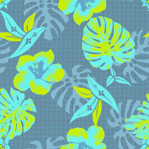 medium Tropical Beach Hibiscus Hawaii