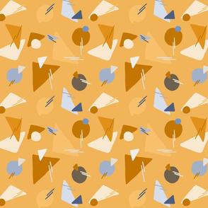 Perfect Shapes over light orange