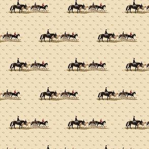 Fox Hunting Illustrated Pattern
