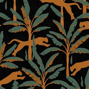 Tropical Wildlife Collection - Orange Sunset 01 / Large