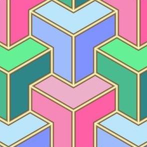 10927593 : chevron3 : summercolors