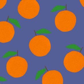 Paper-cut Oranges