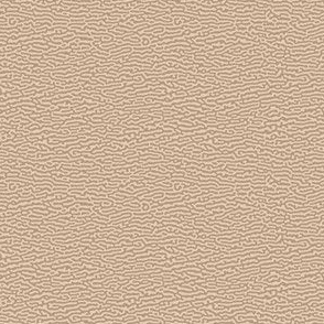 tiny wave or bark texture, tan - Turing pattern #5