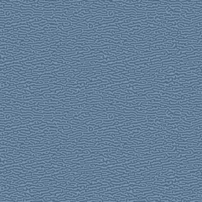 tiny wave texture in denim blue - Turing pattern #5