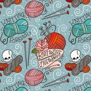 Knitting Forever