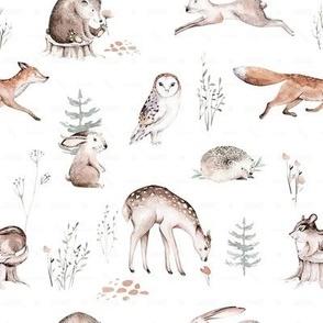 Scandinavian Woodland Animals
