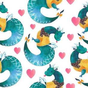 Velentines Dragons