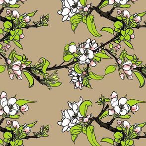 Crabapple Blossom Toasted