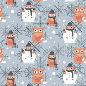 THE SNOWMAN OWL