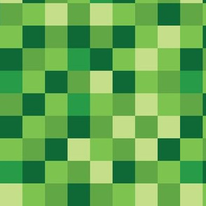 Blocky Gamer Green