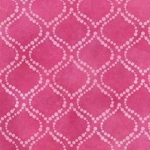 Pink Batik Droplets