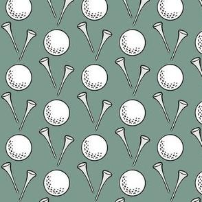 golf - sage green