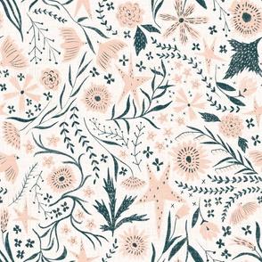 Garden of stars - white