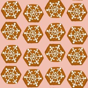 Christmas Cookies - Pink, LARGE