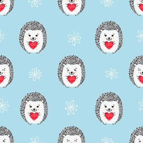 Valentines Hedgehog