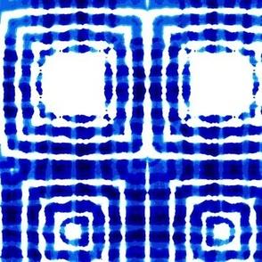"""Indigo squares, M, 9"""""""