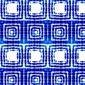 """Indigo squares, XXS, 4.5"""""""