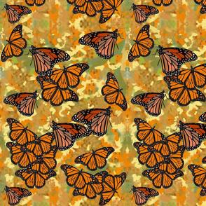Lg Monarch Butterflies by DulciArt,LLC