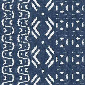 Mud Cloth 10-Blue (large scale)
