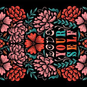 Lamb Illustration's Love Yourself Tea Towel