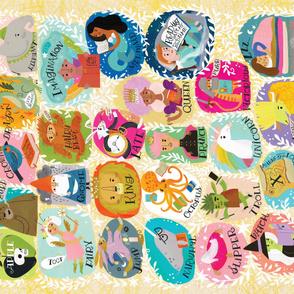1 Yard Fairy Tale Alphabet