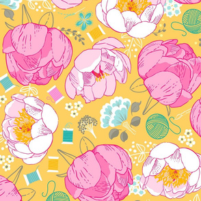 DreamBox-with-Peonies-Yellow