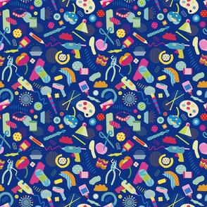 Craft Essentials Bright Blue