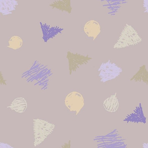 testing pens beige lilac - large scale