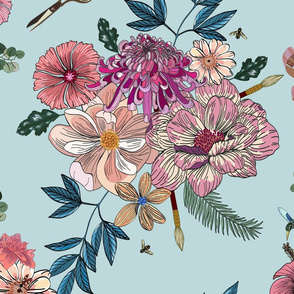 Flower bouquet- large