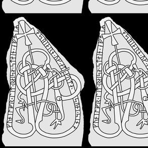 Runestone U 1096 Urnes style