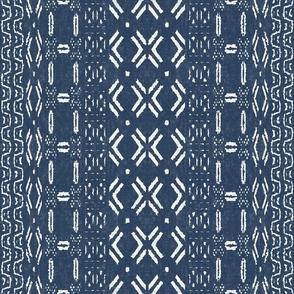 Mudcloth 1-Blue (medium scale)
