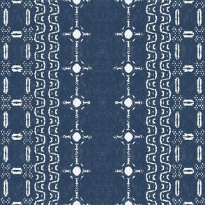 Mudcloth 6-Blue (medium scale)