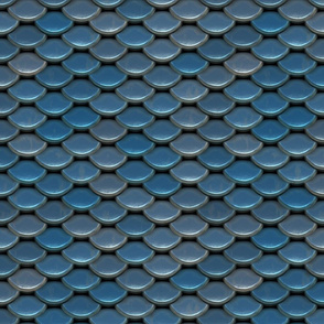 12x12x150 Blue Steel Scale Armor