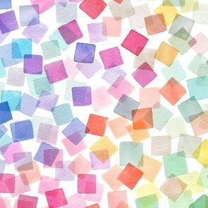 Confetti party Multicolored Big