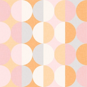 Creative dreams XL wallpaper scale in pink by Pippa Shaw 24in