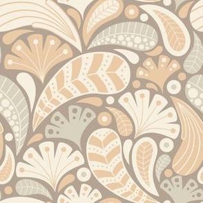 Soft Paisley Swirls