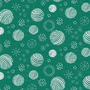 Happy Crafter Circles in Leaf Green