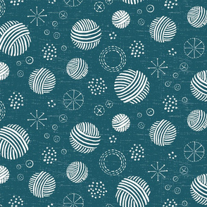 Happy Crafter Circles  in Teal