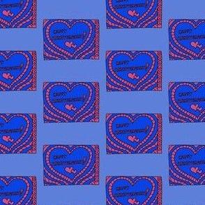 "HE_08344-""Happy Anniversary"" Blue & Pink"