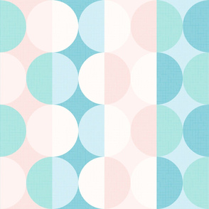 Creative dreams wallpaper XL scale in turquoise by Pippa Shaw