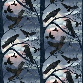 Seven Ravens Halloween Full Moon / Tiny Scale