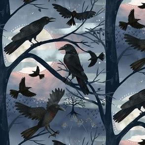 Seven Ravens Halloween Full Moon / Small Scale