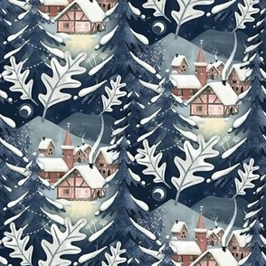 Christmas Night Village / Tiny Scale