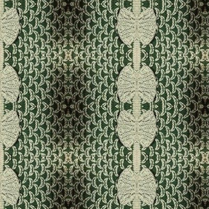 Fish Scale Knit in Greens