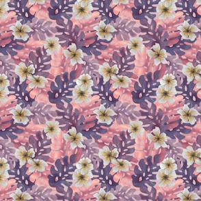 ALT ROSA Hibiscus Pattern small
