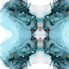 olive branches pattern on white-01