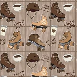 Coffee Roller Skates